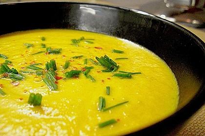 Möhren - Ingwer - Honig Suppe 13