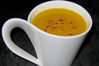 Möhren - Ingwer - Honig Suppe