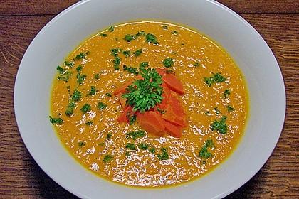 Möhren - Ingwer - Honig Suppe 15