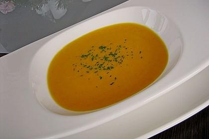 Möhren - Ingwer - Honig Suppe 16
