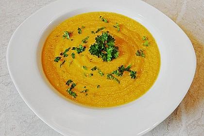 Möhren - Ingwer - Honig Suppe 5