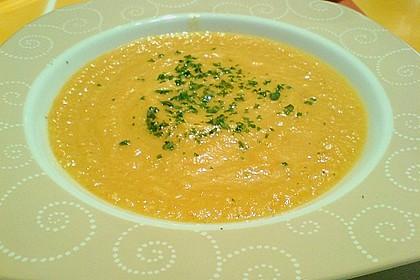 Möhren - Ingwer - Honig Suppe 34