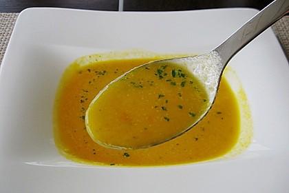 Möhren - Ingwer - Honig Suppe 20