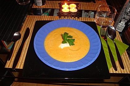 Möhren - Ingwer - Honig Suppe 11