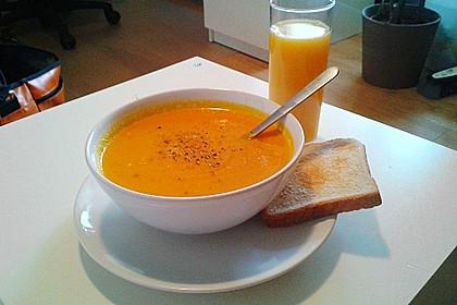Möhren - Ingwer - Honig Suppe 9