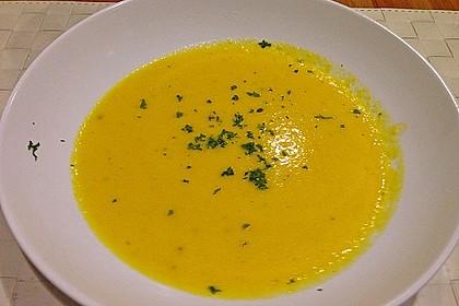 Möhren - Ingwer - Honig Suppe 21