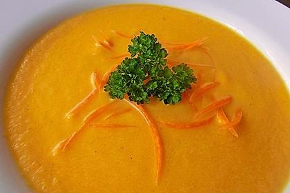 Möhren - Ingwer - Honig Suppe 2