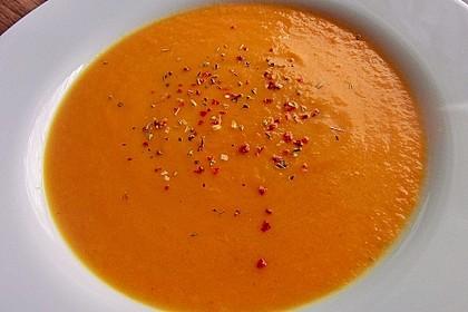 Möhren - Ingwer - Honig Suppe 12