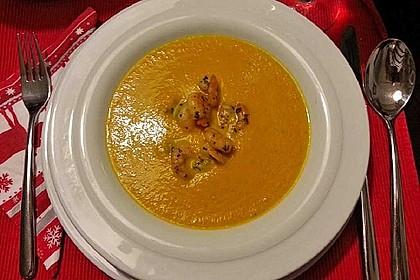 Möhren - Ingwer - Honig Suppe 29