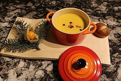 Möhren - Ingwer - Honig Suppe 3