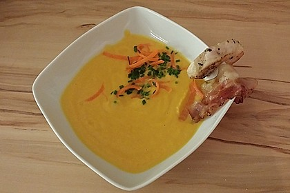 Möhren - Ingwer - Honig Suppe 17