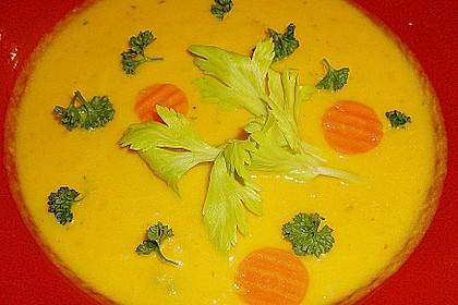 Möhren - Ingwer - Honig Suppe 8