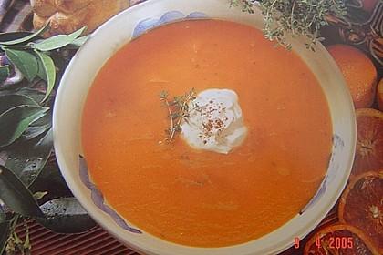 Möhren - Orangen - Suppe