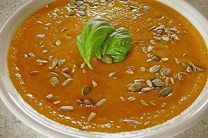 Möhren - Orangen - Suppe 4