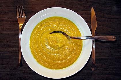 Möhren - Orangen - Suppe 3