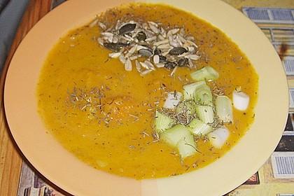 Möhren - Orangen - Suppe 5
