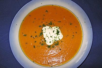 Möhren - Orangen - Suppe 1