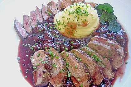 Barbarie - Entenbrust mit Portwein - Kirsch Sauce 2