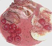 Barbarie - Entenbrust mit Portwein - Kirsch Sauce (Bild)