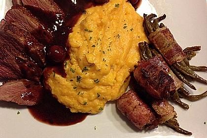 Barbarie - Entenbrust mit Portwein - Kirsch Sauce 10