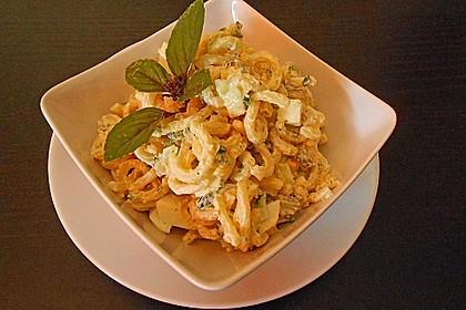 Mozzarella - Nudel Salat 11