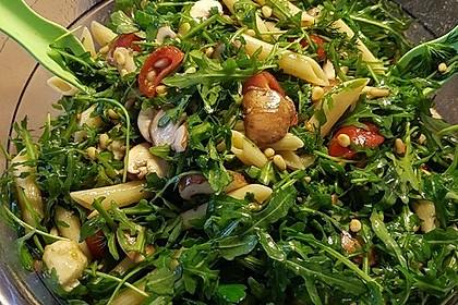 Mozzarella - Nudel Salat 8