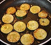 Gebratene Zucchini