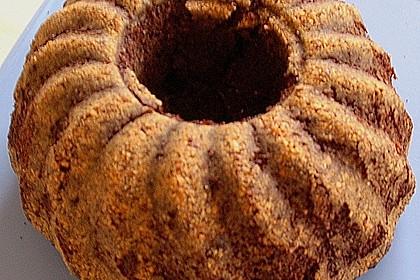 Flaumiger Schoko - Nuss - Kuchen mit Joghurt 5