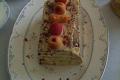 Flaumiger Schoko - Nuss - Kuchen mit Joghurt 4