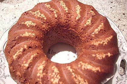 Flaumiger Schoko - Nuss - Kuchen mit Joghurt 3