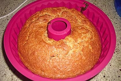Flaumiger Schoko - Nuss - Kuchen mit Joghurt 6