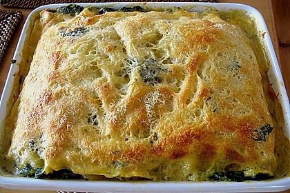 Spinat - Lachs - Lasagne 3