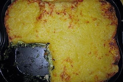 Spinat - Lachs - Lasagne 6