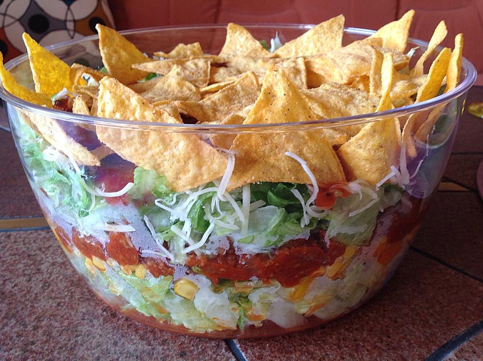 taco salat rezepte. Black Bedroom Furniture Sets. Home Design Ideas