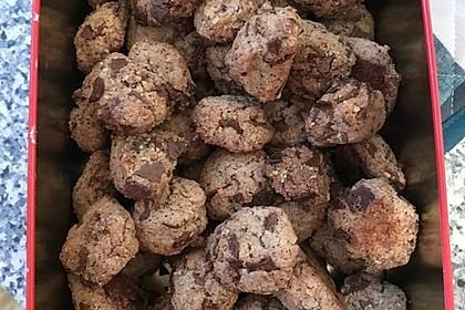 Nuss - Schokoladen - Plätzchen 5