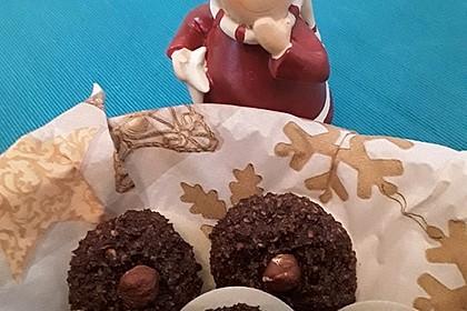 Nuss - Schokoladen - Plätzchen 10