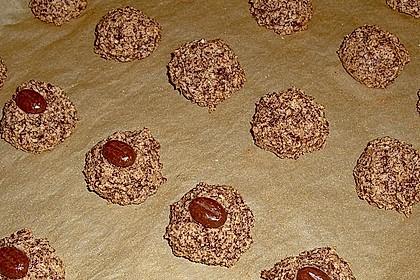 Nuss - Schokoladen - Plätzchen 9
