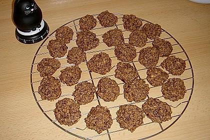 Nuss - Schokoladen - Plätzchen 7
