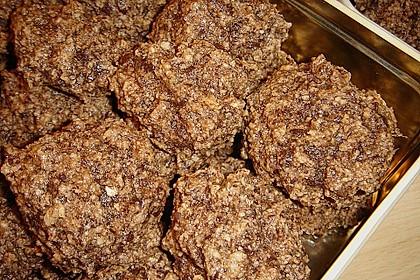 Nuss - Schokoladen - Plätzchen 8