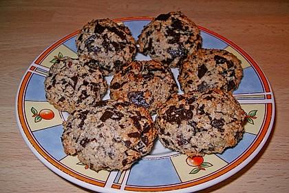 Nuss - Schokoladen - Plätzchen 6