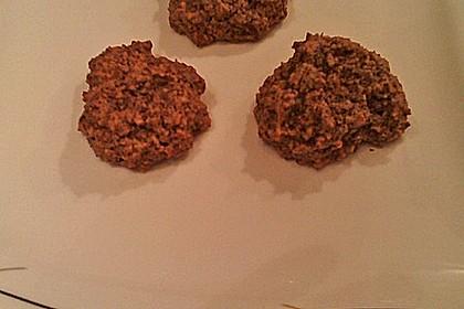 Nuss - Schokoladen - Plätzchen 15