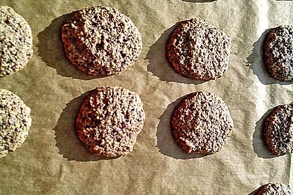 Nuss - Schokoladen - Plätzchen 14
