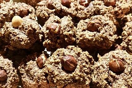 Nuss - Schokoladen - Plätzchen 11