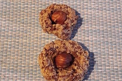 Nuss - Schokoladen - Plätzchen 12