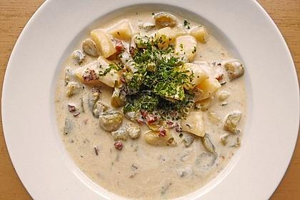 Schnippelbohnen - Suppe 0