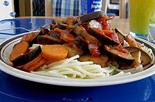 Spaghetti mit Gemüse - Bolognese