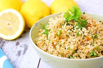 Zitronen-Bulgur Salat