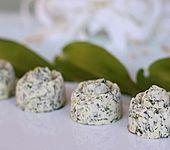 Bärlauch-Kresse-Butter mit Chilinote