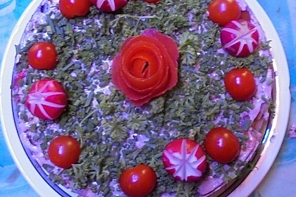 Festsalat-Torte à la Didi