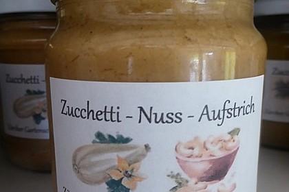Veganer Zucchini-Cashew-Sonnenblumenkern-Aufstrich - eingekocht 1